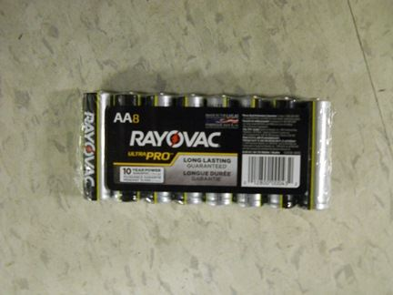 BATTERIES, AA, 4/PACK