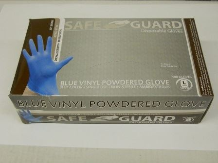 GLOVES, NON-STERILE,, LATEX EXAM, LARGE