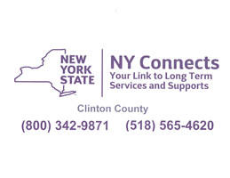 NY Connects Logo phone 800-342-9871 or 518-565-4620